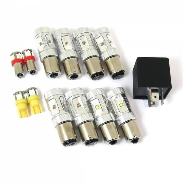 T-LED, Porsche 964 LED kit, US Red